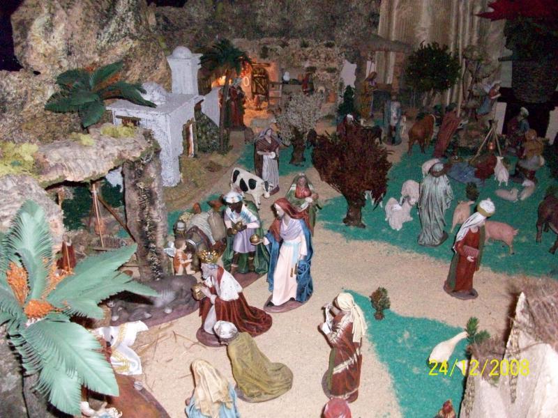 Navidad 2008-4. Belén de Carlos Mª Gallardo de los Ríos (Peñarroya-Pueblonuevo, Córdoba)