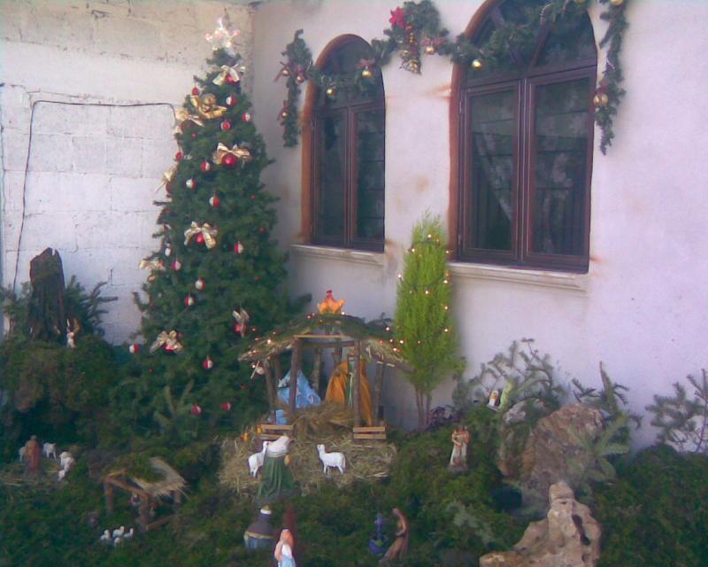 Navidad en casa. Belén de Miguel Angel Pérez Castañeda