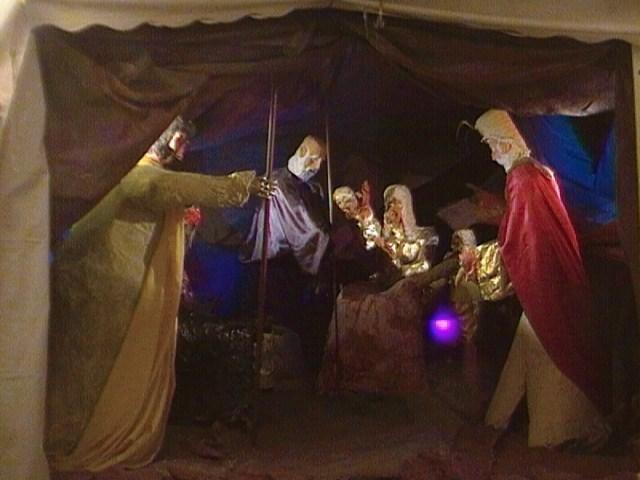 adoración de  los Magos 1. Belén de luis abaroa (gran tarajal)