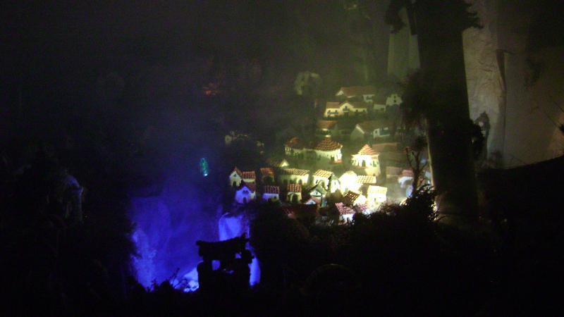 La luz de la Navidad. Belén de Luis Carlos Aliaga Núñez del Prado (Cusco)