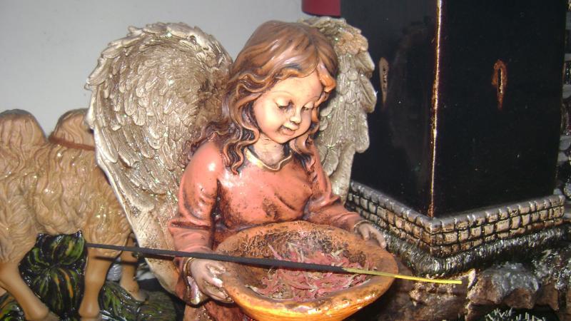 El Angel. Belén de Luis Carlos Aliaga Núñez del Prado (Cusco)