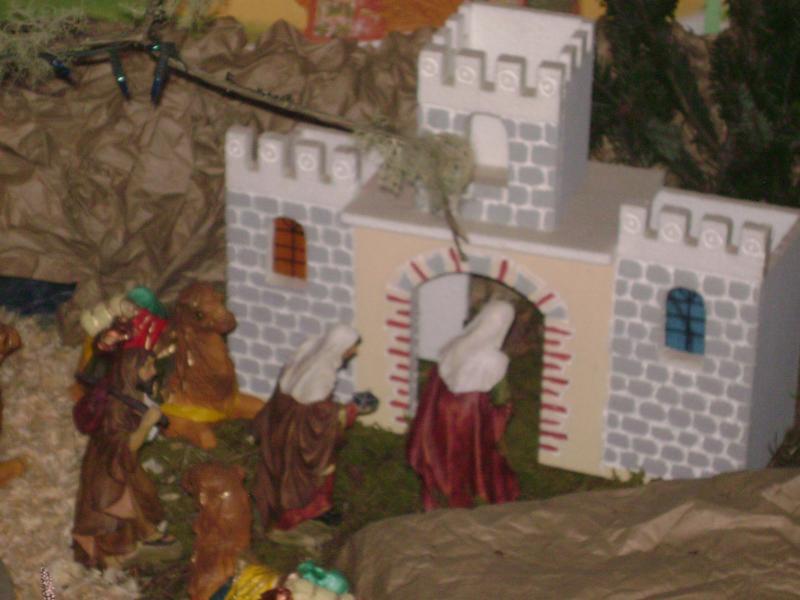 LA VISITA DE LOS REYES MAGOS AL CASTILLO DE HERODES.. Belén de Juarez Cañellas (Quetzaltenango)