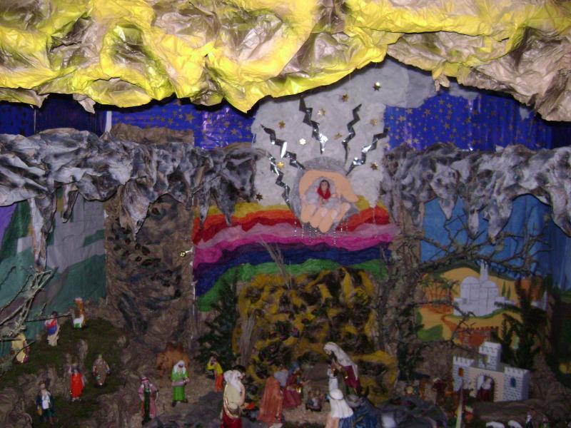 UN ALTAR ESPECIAL.. Belén de Juarez Cañellas (Quetzaltenango)