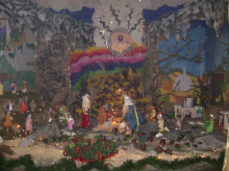 LO MISTICO DE LA FÈ EN LA NATIVIDAD DE JESUS.. Belén de Juarez Cañellas (Quetzaltenango)