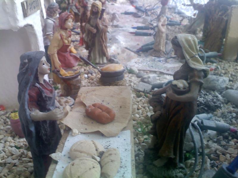 panadera. Belén de Sara Huidobro Lobato (Algeciras)