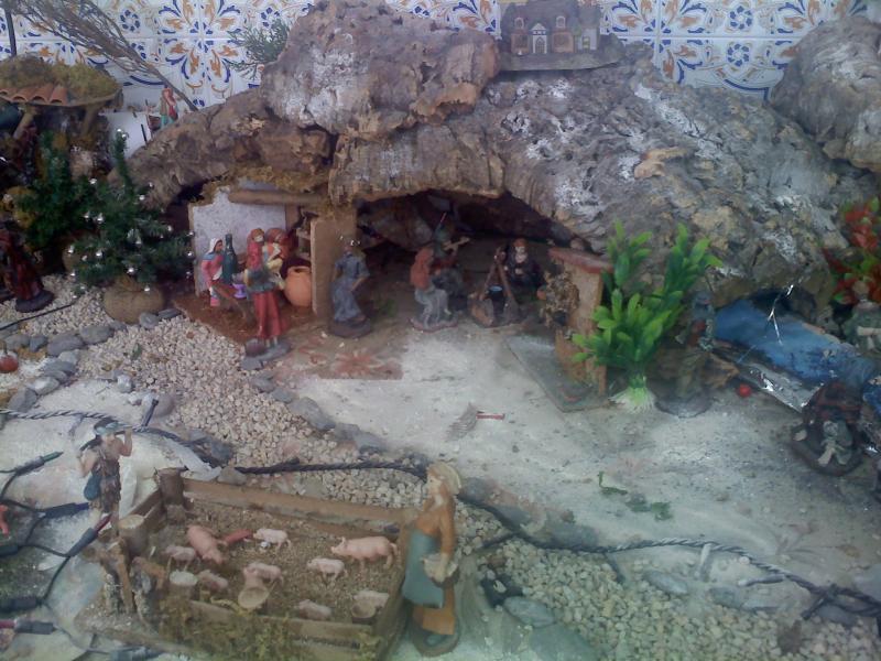 vista de lejos 4. Belén de Sara Huidobro Lobato (Algeciras)