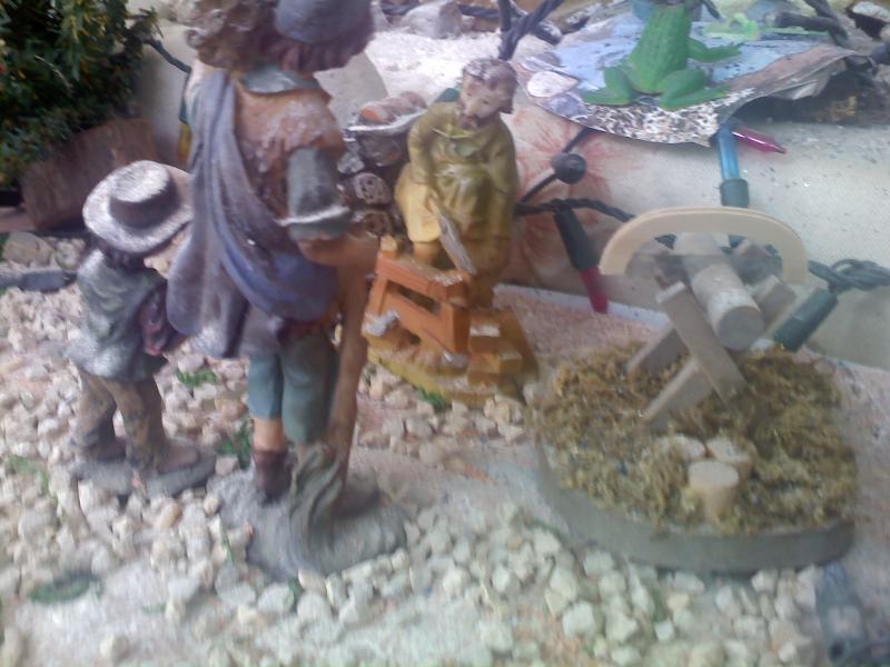 carpintero. Belén de Sara Huidobro Lobato (Algeciras)