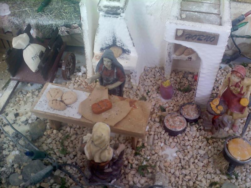 panaderia. Belén de Sara Huidobro Lobato (Algeciras)