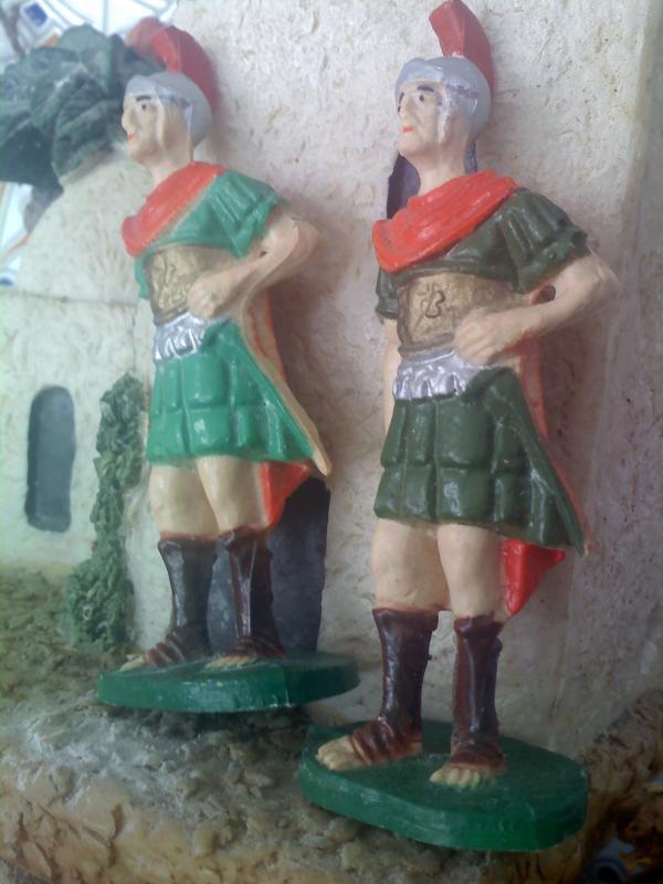 romanos. Belén de Sara Huidobro Lobato (Algeciras)
