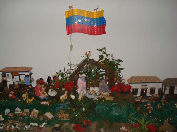 pesebre oriental Venezolano. Belén de Maria Elena