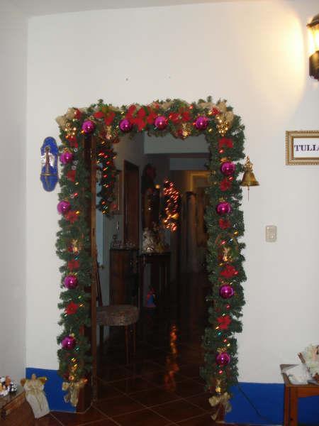puerta de entrada. Belén de Maria Elena