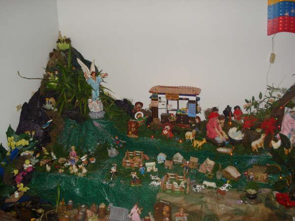 pesebre oriental Venezolano. Bel�n de Maria Elena