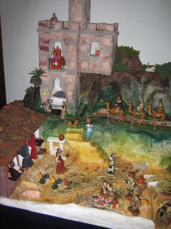 CASTILLO DE HERODES. Belén de MIGUEL ANGEL RODRIGUEZ (CORDOBA)