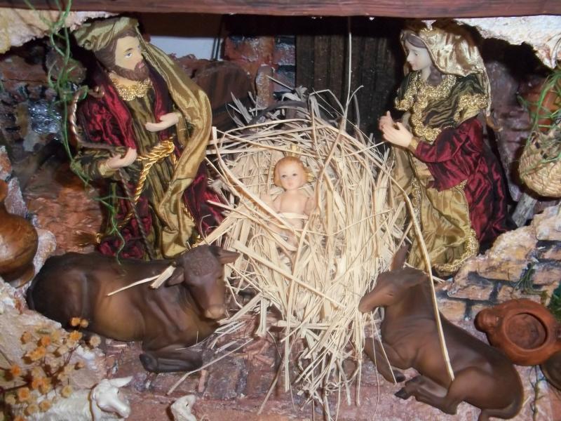 La sagrada familia Belén de Jesús Medardo López. Belén de Solarte Mauricio (El Tambo Cauca)