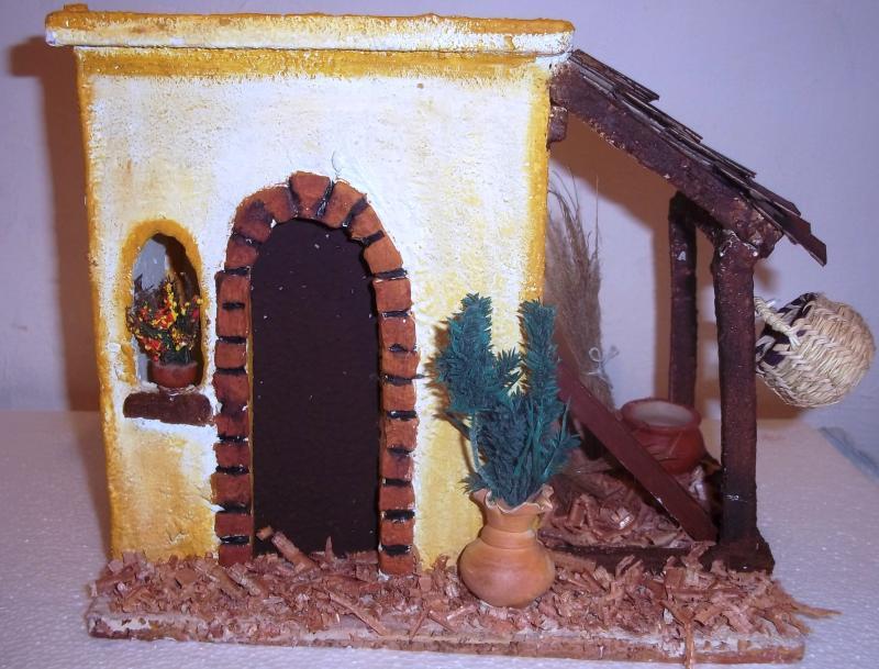 Casa belén de Jesús Medardo López realizada por Mauricio Solarte. Belén de Solarte Mauricio (El Tambo Cauca)