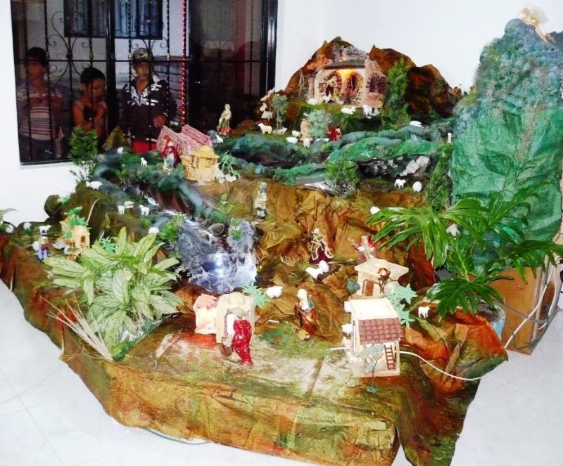 Belén en El Tambo Cauca. Belén de Solarte Mauricio (El Tambo Cauca)