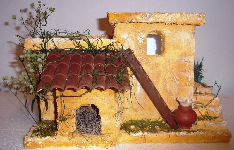 Vista frontal de casa de pesebre El Tambo Cauca 2010. Belén de Solarte Mauricio (El Tambo Cauca)