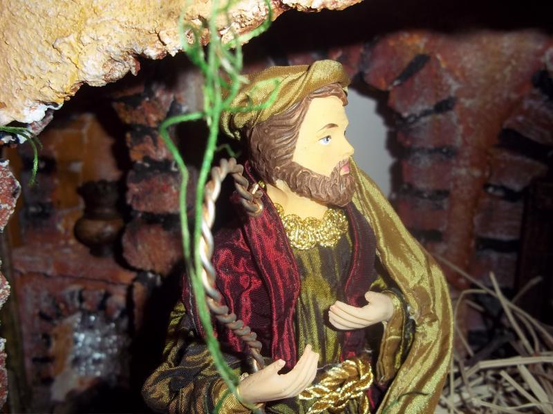 José en el Portal de Belén por Mauricio Solarte. Belén de Solarte Mauricio (El Tambo Cauca)