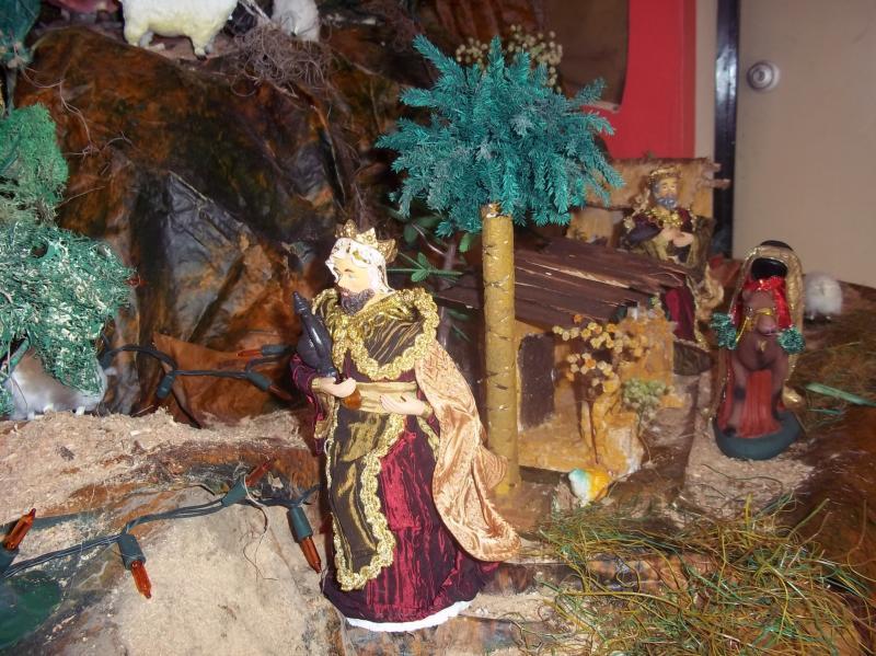 El rey mago se dirige hacia belén. Belén de Solarte Mauricio (El Tambo Cauca)
