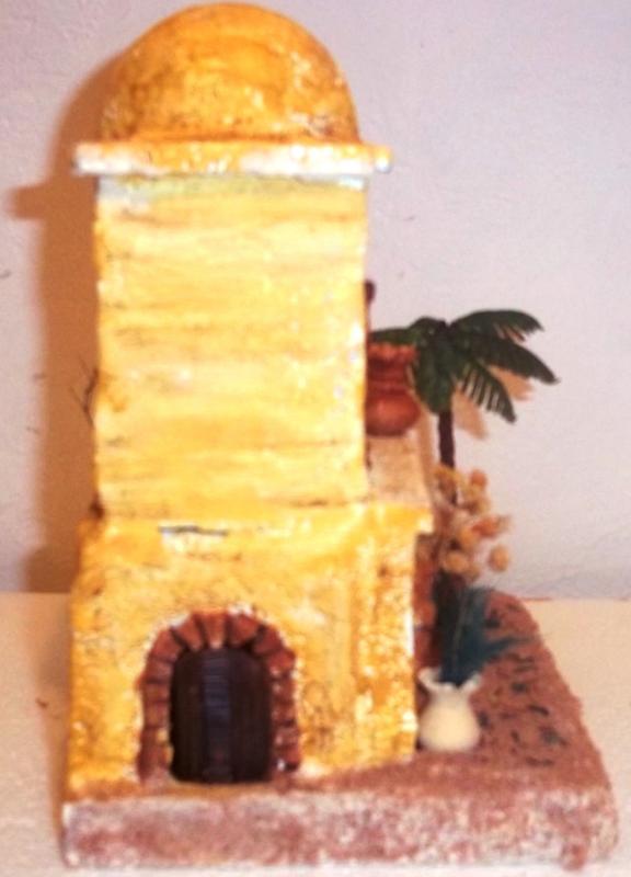 Vista posterior de la casa. Belén de Solarte Mauricio (El Tambo Cauca)