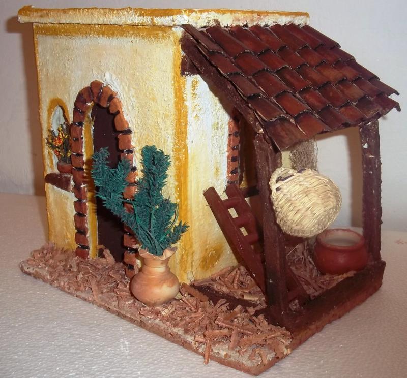 Casa para belenes. Belén de Solarte Mauricio (El Tambo Cauca)