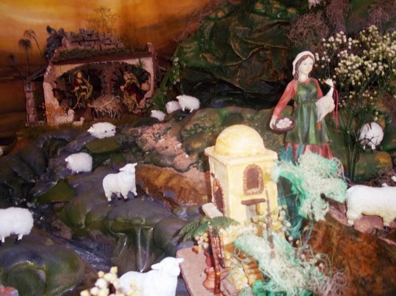 Al fondo el portal. Belén de Solarte Mauricio (El Tambo Cauca)