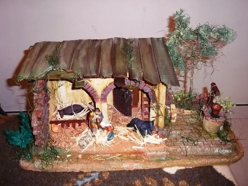 Portal con sagrada familia por Mauricio Solarte El Tambo Cauca. Belén de Solarte Mauricio (El Tambo Cauca)
