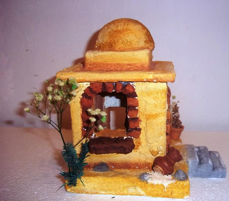 Casa con gradas. Belén de Solarte Mauricio (El Tambo Cauca)