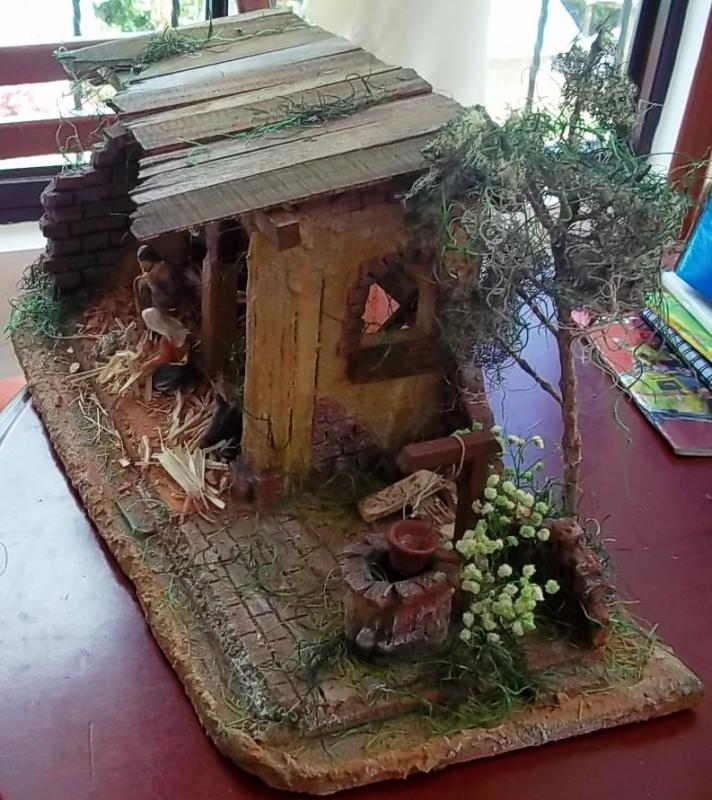 Esperando la llegada del niño Dios. Belén de Solarte Mauricio (El Tambo Cauca)