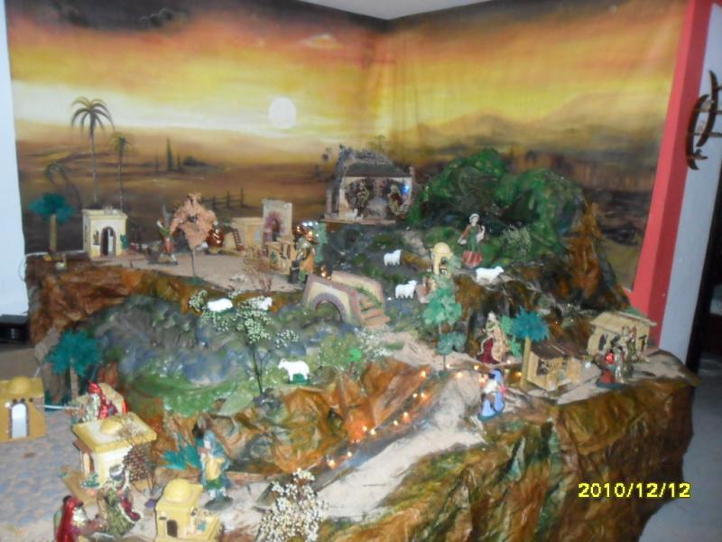 El camino hacia el portal. Belén de Solarte Mauricio (El Tambo Cauca)