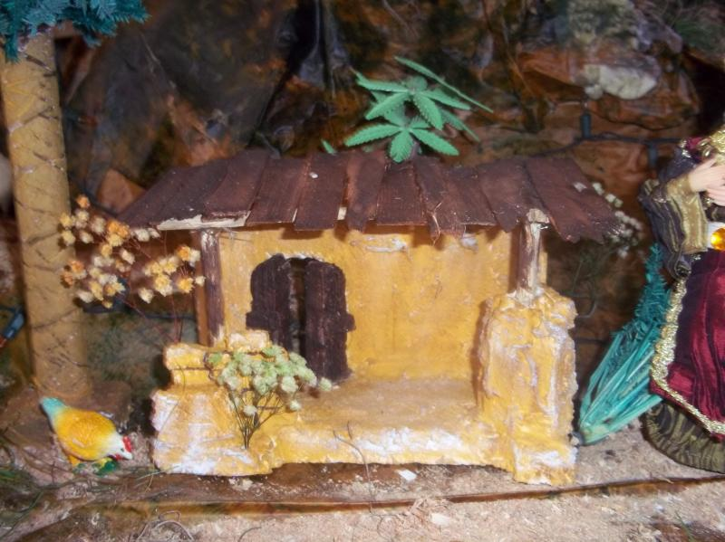 Portal pequeño. Belén de Solarte Mauricio (El Tambo Cauca)
