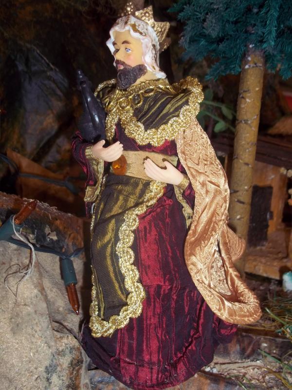 Rey Mago. Belén de Solarte Mauricio (El Tambo Cauca)