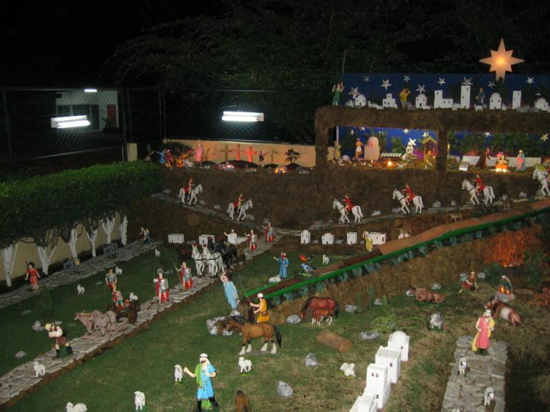Nocturno. Belén de Moises Absalon Pastora (Nicaragua)