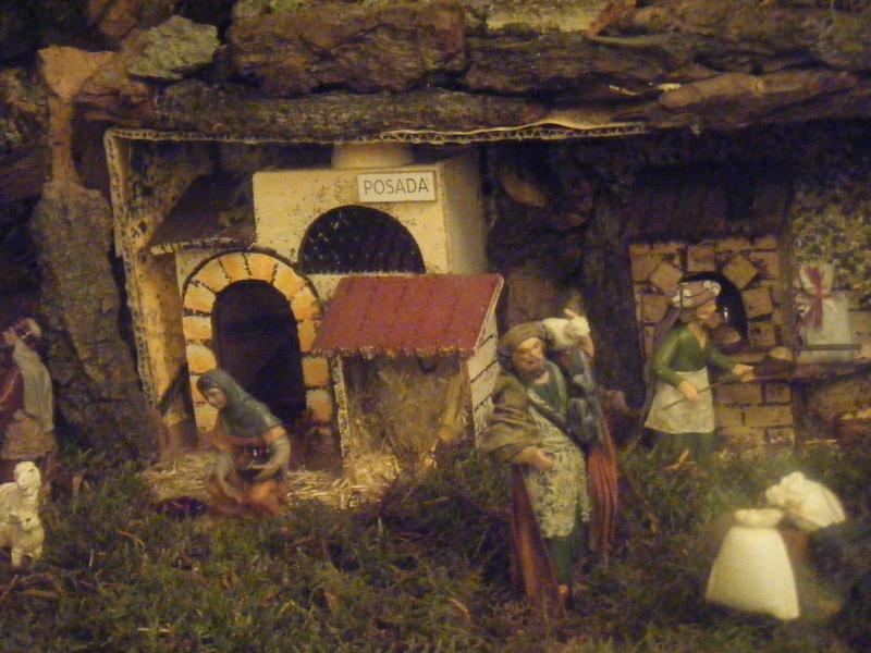 posada y panadero. Belén de Mokeka L. Suarez (Madrid)