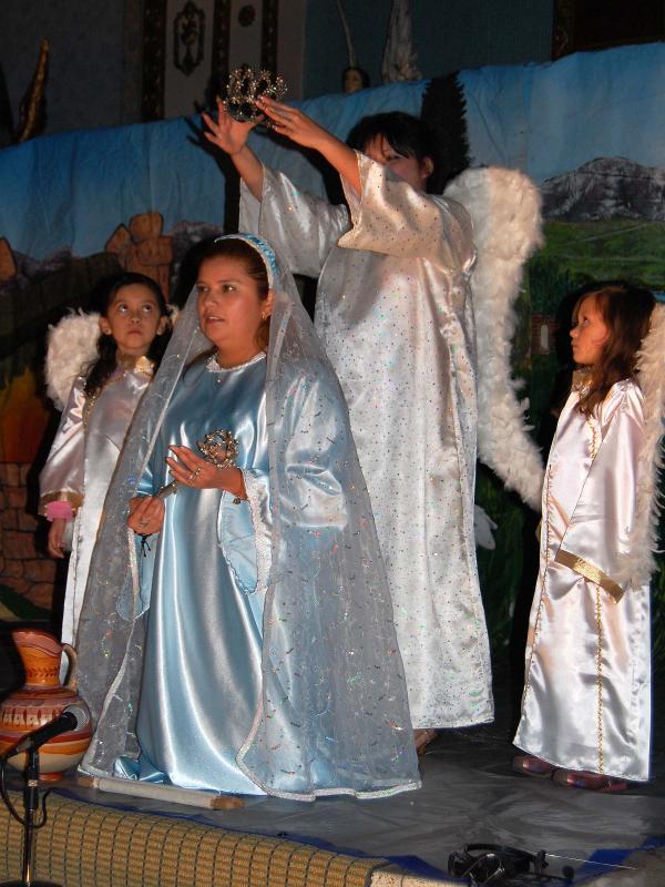 La Anunciacion - Maria y  el Arcangel Gabriel.