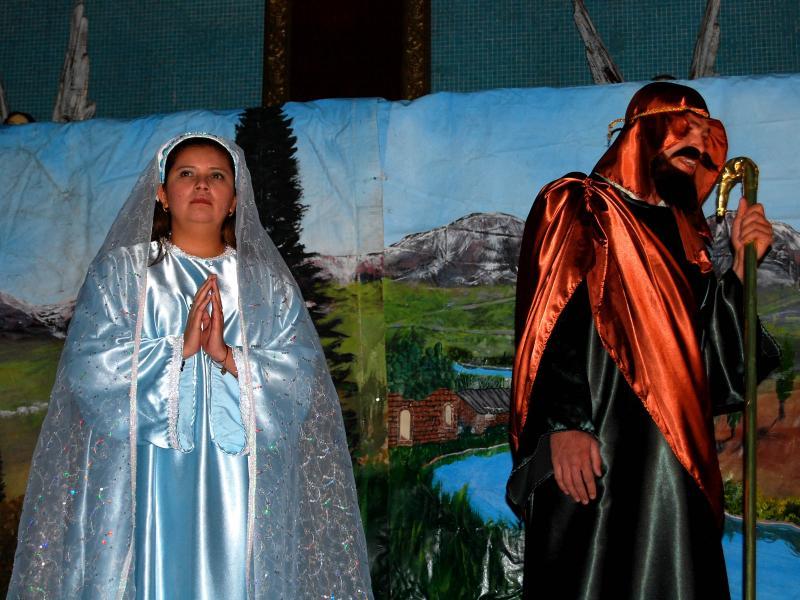 Jose y Maria Pidiendo Posada.