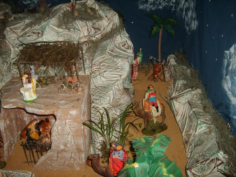 Los Reyes Magos. Belén de Jose Antonio Pineda