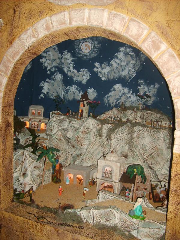 Arco central. Belén de Jose Antonio Pineda
