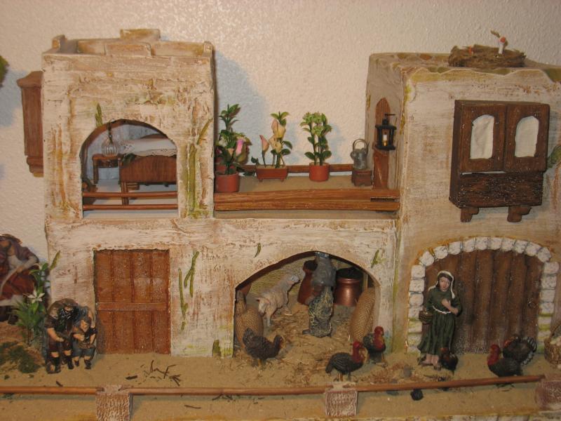 Casa del pueblo. Belén de tronky (Javali Nuevo)