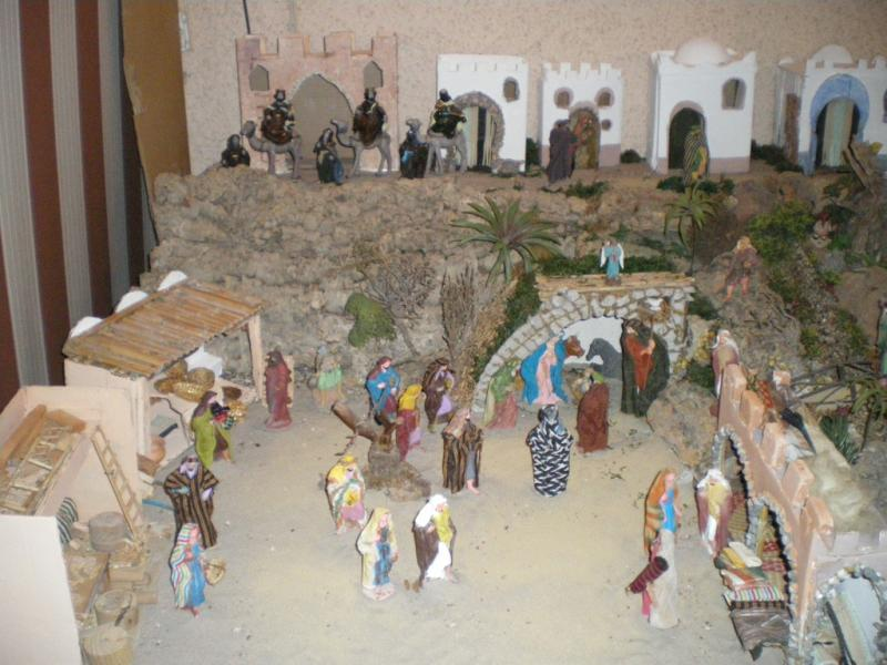 parte izquierda. Belén de Jose Luis Estenaga (San Vicente del Raspeig - Alicante)