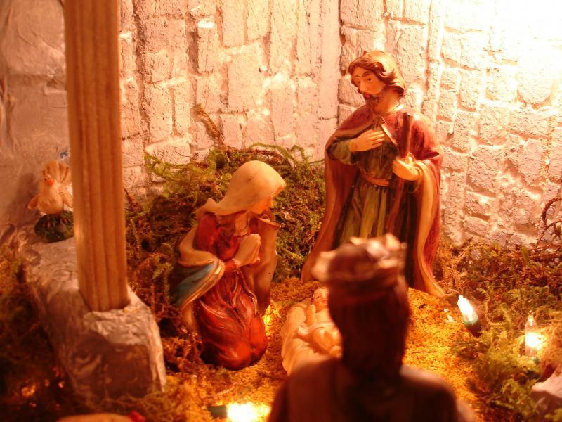Jesús Nace en Belén. Belén de sjuarez (Guatemala)