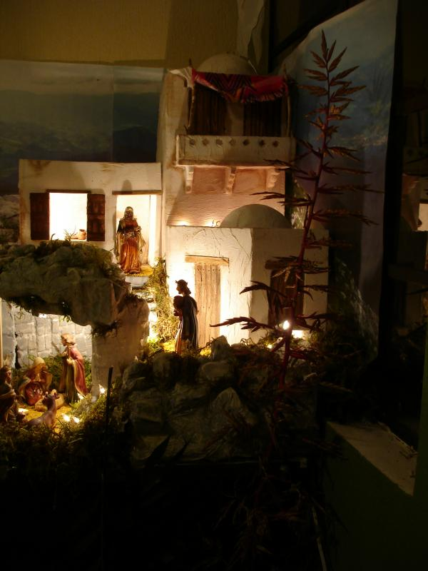 Vista Nocturna 2. Belén de sjuarez (Guatemala)