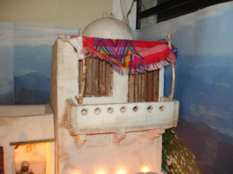 Balcon. Belén de sjuarez (Guatemala)
