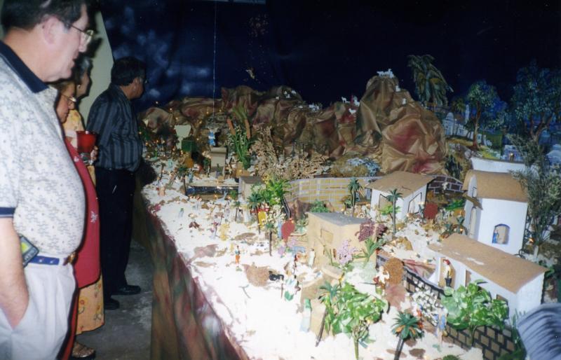 Nacimiento en casa 2000. Belén de Fernando (Trujillo Alto, Puerto Rico)
