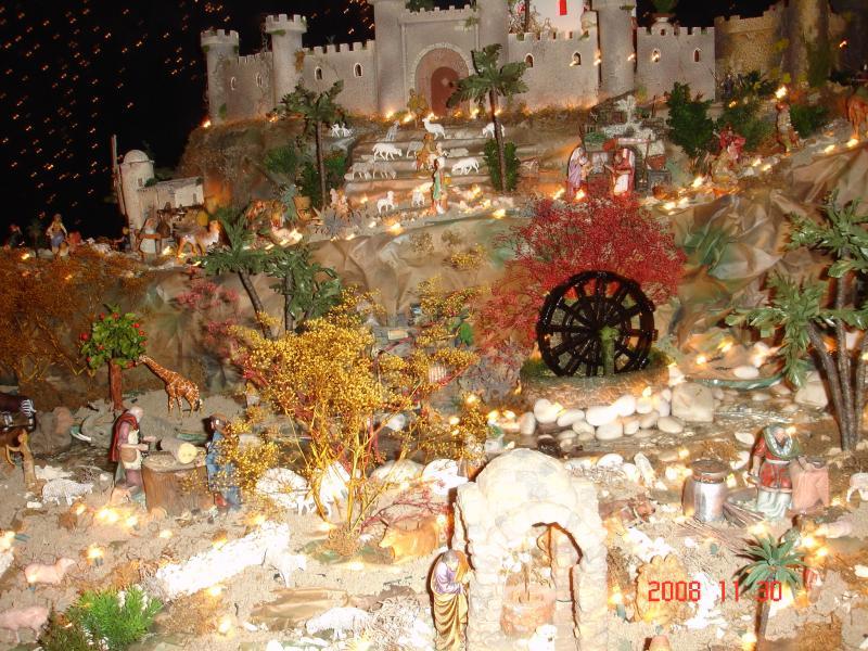 Inaguracion del nacimiento 2008. Belén de Fernando (Trujillo Alto, Puerto Rico)