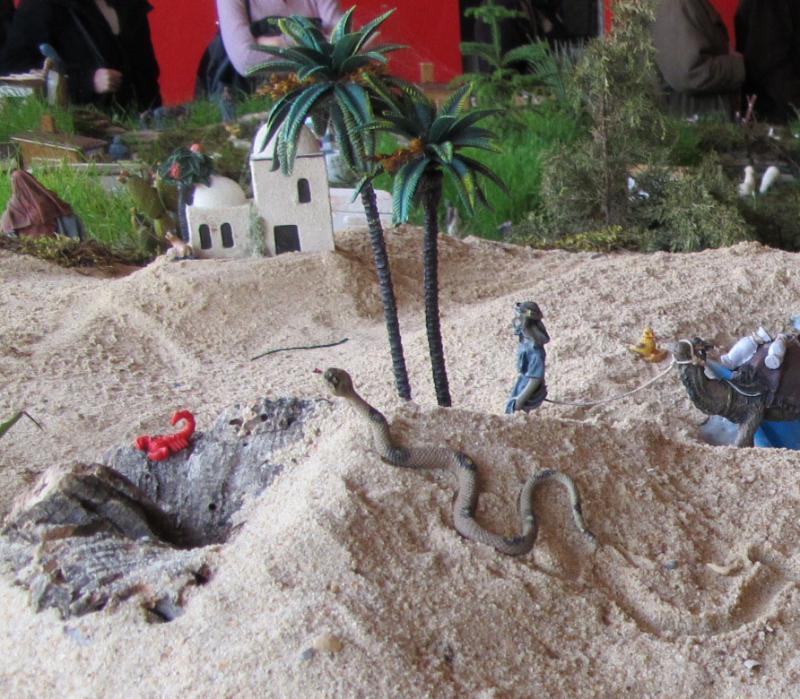 06- animais do deserto. Belén de Bombeiros Municipais Tavira (Tavira)