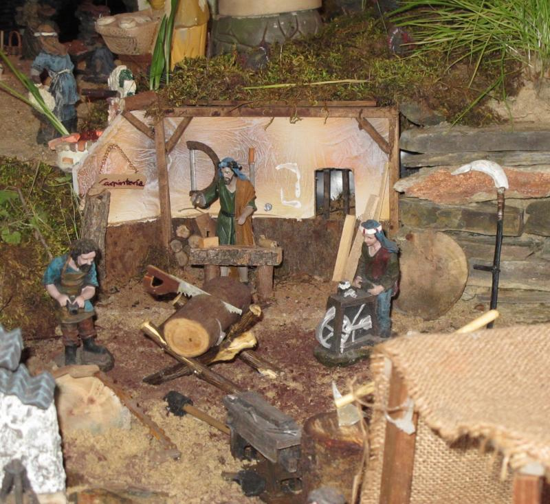11- carpintería. Belén de Bombeiros Municipais Tavira (Tavira)