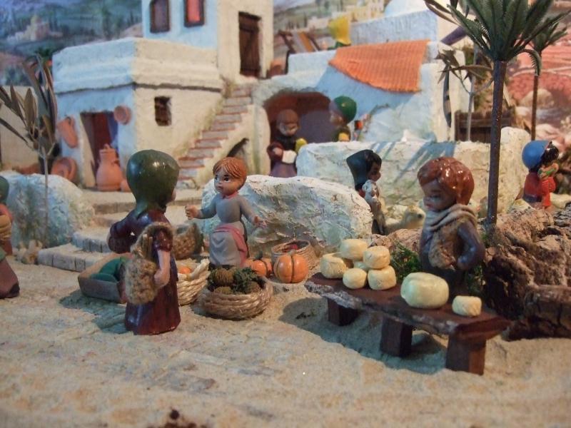 Mercado 2. Belén de Associação Cultural Fusetense (Fuseta, Algarve)