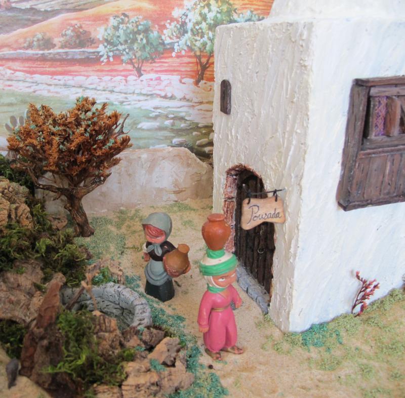 a Pousada. Belén de Associação Cultural Fusetense (Fuseta, Algarve)