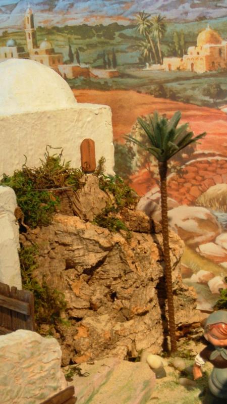 Paisagem. Belén de Associação Cultural Fusetense (Fuseta, Algarve)